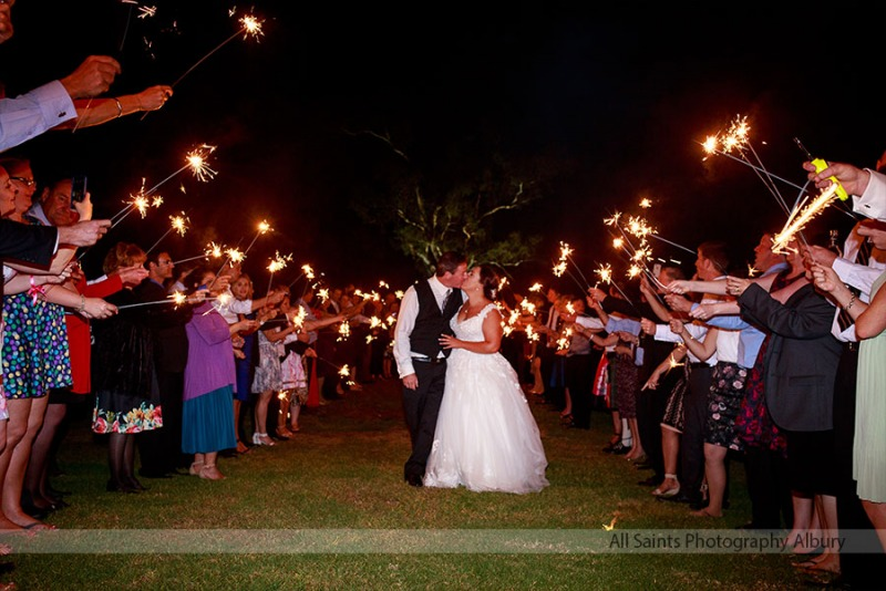 Kristy & Terry's Wodonga Golf Club Wedding