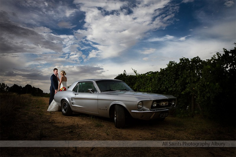 Simone and Aaron's All Saints Estate Rutherglen Wedding