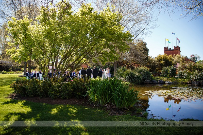 Briony & Jason's All Saints Estate Rutherglen Wedding