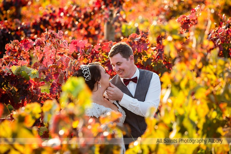Jessica & Thomas' Tuileries Rutherglen Wedding.