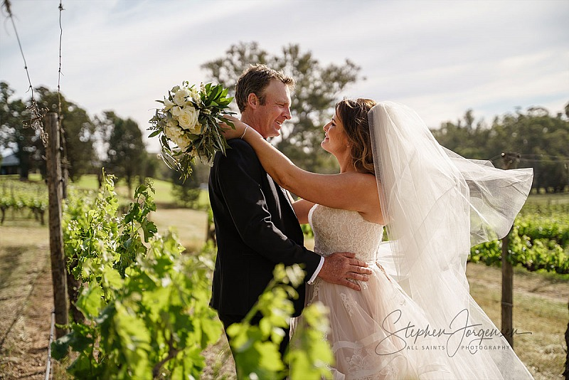 Julie & Viv's St Leonard's Winery Wedding