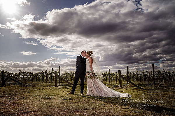 Jessica and Andrew's Wedding at Tuileries Rutherglen.