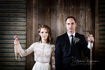 Wedding photograph at Remel 185 Whorouly by Stephen Jorgensen from All Saints Photography Albury.
